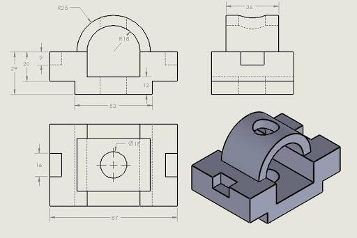 Tìm hiểu bản vẽ cơ khí và bản vẽ xây dựng dùng trong các công việc gì?