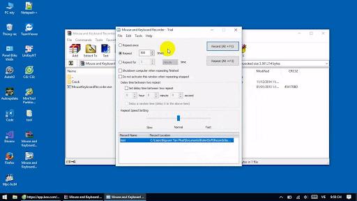 Tổng hợp các phần mềm ghi lại thao tác bàn phím và chuột thuận tiện