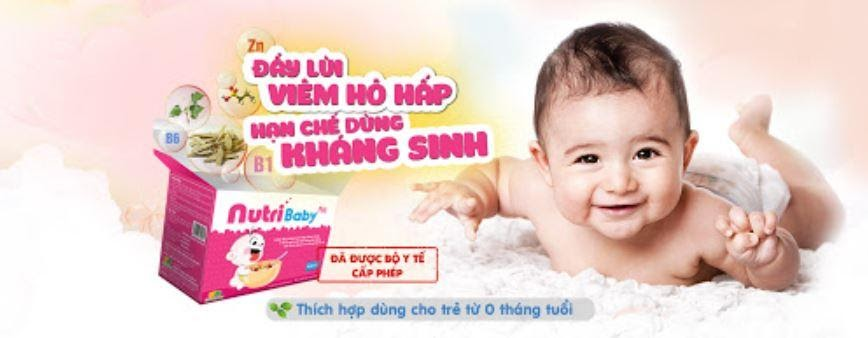 nutribaby có dùng cho trẻ sơ sinh được không 1