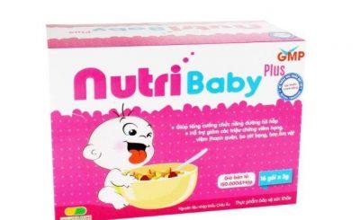 nutribaby có dùng cho trẻ sơ sinh được không
